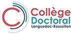 Logo du Collège Doctoral Languedoc Roussillon